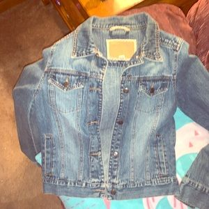 Hollister jean. Jacket